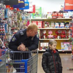 Photo Gallery: Shop with a Cop shows Blue Spirit