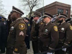Photo Gallery: Suburban departments honor fallen Chicago officer