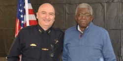 Special recognition for DeKalb County's first black police officer