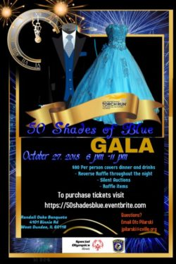 '50 Shades of Blue' Gala to raise money for Special Olympics